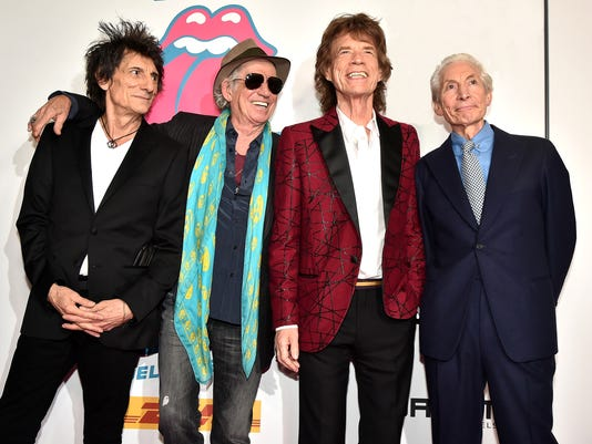 The Rolling Stones celebrate the North American debut of Exhibitionism at Industria in the West Village - Arrivals