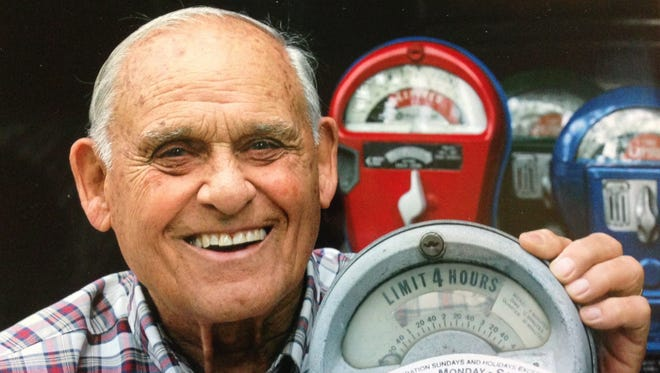 Long after he retired from being the meter man for the City of Birmingham, Jack Fawcett enjoyed repairing, painting, and selling old parking meters. He is remembered for his friendly manner and fine sense of humor.