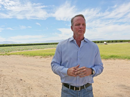 Scott Slater, president and CEO of Cadiz Inc. explains the company's plan to pump groundwater in the Mojave Desert.