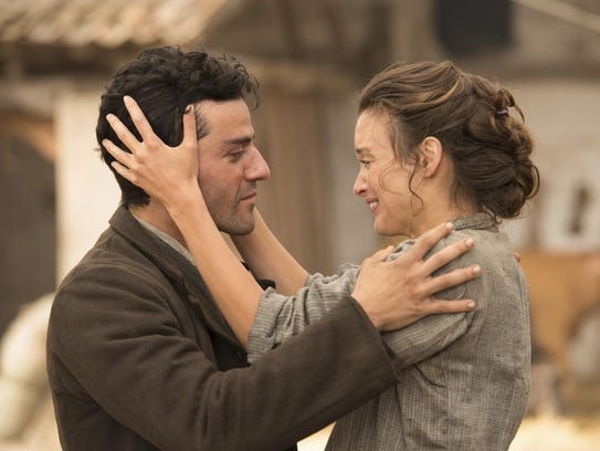 Oscar Isaac and Charlotte Le Bon star in the drama