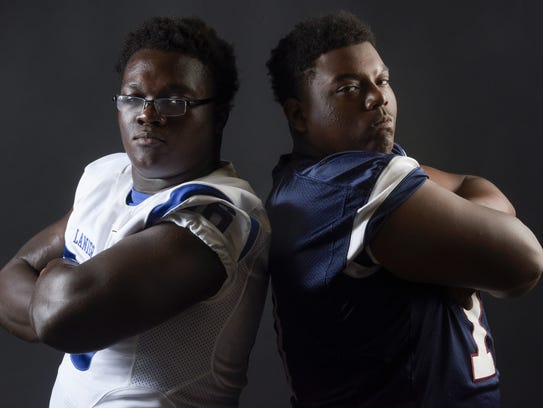 Sidney Lanier's Alfred Thomas, left, and Park Crossing's