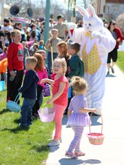 The Easter Bunny returns for more egg hunts in Fremont and other Sandusky County communities this weekend.