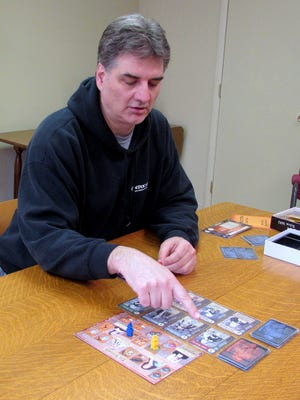 """DPH Games founder Dan Hundycz explains how his new game """"Affliction"""", based on the Salem Witch Trials, is played."""