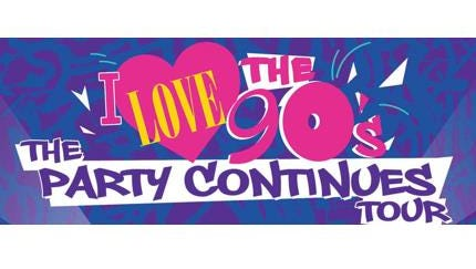 I Love the 90's The Party Continues Tour