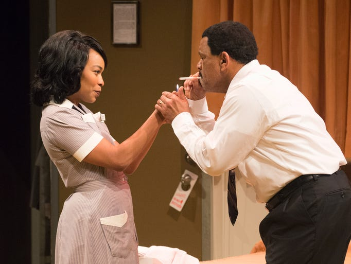 Antoinette Robinson (left) plays Camae, a feisty hotel