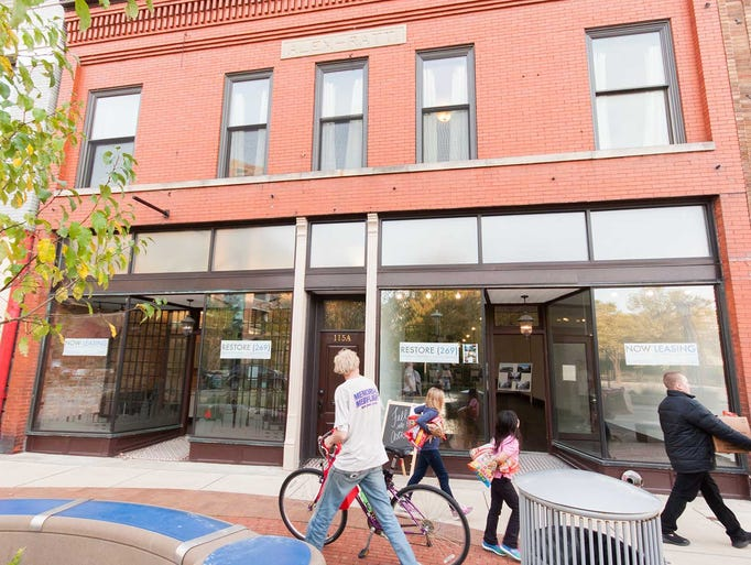 Restore (269) had renovations of the downtown building
