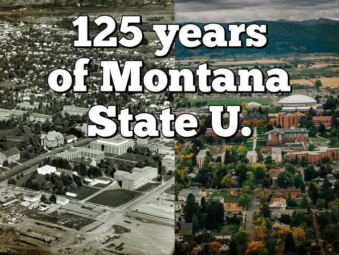 125 Years of Montana State University. 1893-2018.