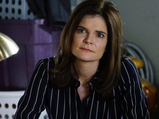 Betsy Brandt is a mother of three in CBS' new 'Life