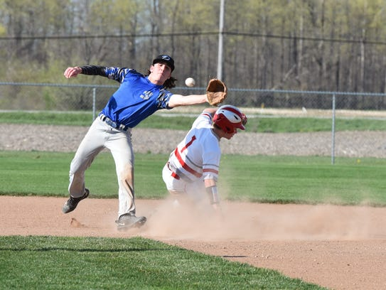 SJCC's Dylan Filliater stole 29 bases without being