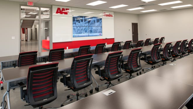A training center at American Air Filter Co. Inc. in River Ridge Commerce Center.
