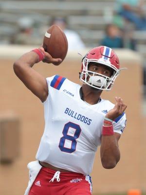 Louisiana Tech quarterback J'mar Smith will play baseball this year for the Bulldogs.