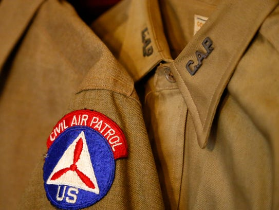 World War 2 vintage Civil Air Patrol uniforms worn