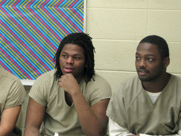From left, Xavier Tate, Aurelius Canada and Romell