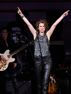 Actress/comedian Sandra Bernhard performs in 2013 during the Music of Prince at New York's Carnegie Hall. She will be at Wilmington's World Cafe Live this Sunday.