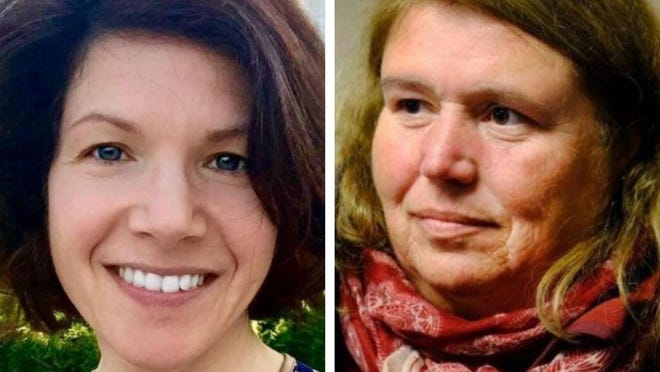 Nancy Pearson, left, a former Portsmouth city councilor, made an ethics complaint against Esther Kennedy, right, a current councilor.