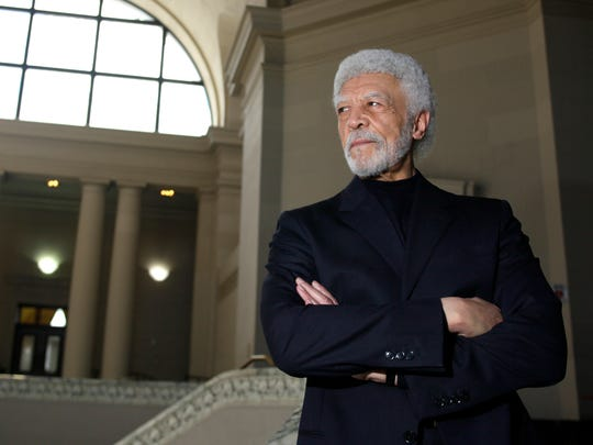 Oakland Mayor Ron Dellums poses for a portrait in the