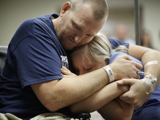 Las Vegas Shooting-Hospitalized Victims