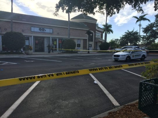 A shooting at Gulf Coast Town Center resulted in multiple crime scenes in Lee County on Nov. 26, 2016.