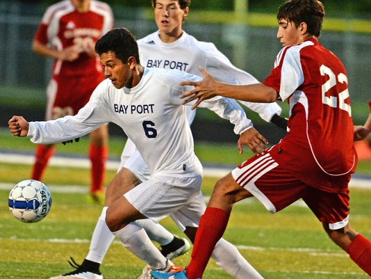 Bay Port soccer team of the week