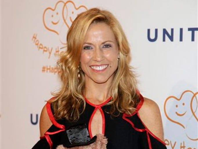 Recording artist Sheryl Crow attends the Happy Hearts Fund Gala on Thursday, June 19, 2014, in New York.