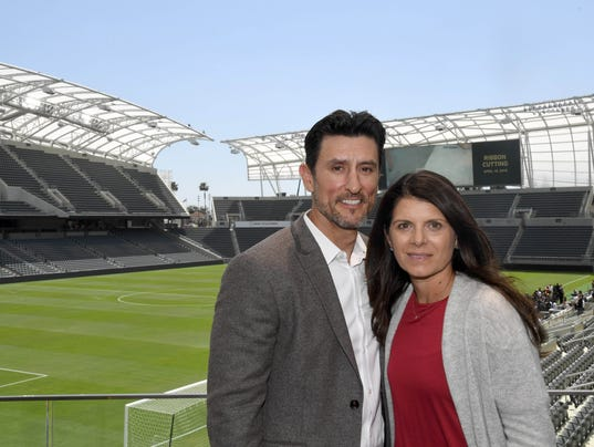 MLS: Banc of California Stadium Ribbon Cutting
