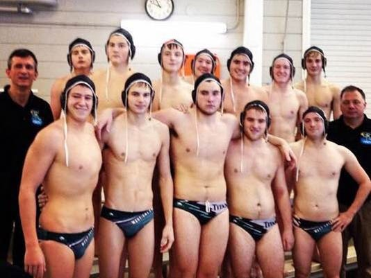 West Salem's water polo team.