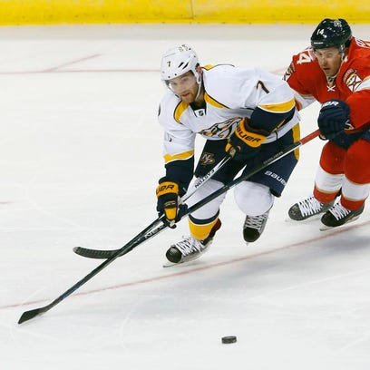 Predators fall to Panthers in preseason opener