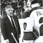 Ron Mason won 635 games and reached 19 NCAA tournaments in 23 seasons as Michigan State's hockey coach from 1979-2002. Mason died Monday at the age of 76.