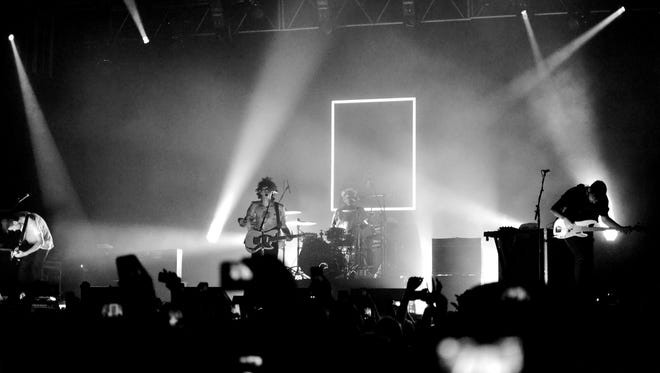 The 1975, a band from Manchester, England, pictured at House of Blues Orlando.