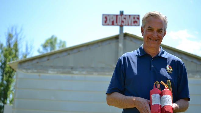 Jim Young is the president and owner of Young Explosives Corporation, a display fireworks company.