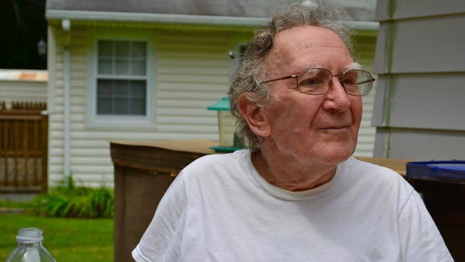 Korean War Veteran, Frank Perry, received home repairs and ADA modifications to his Toms River home through Northern Ocean Habitat for Humanity.