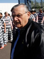 Joe Arpaio, ex alguacil del Condado Maricopa, y reos