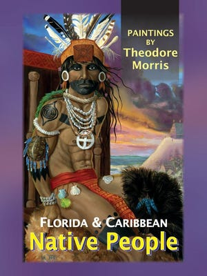 "The painting ""Cacique Carlos,"" shown here on the cover of Theodore Morris' latest book, will be part of the ""ArtCalusa"" exhibition at the Brevard Museum of History and Natural Science."
