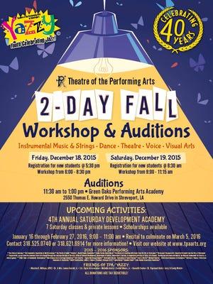 TPA fall workshop
