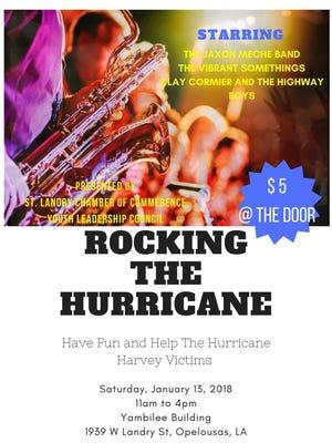 Concert will support Hurricane Harvey relief efforts