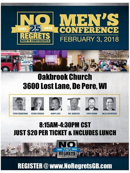 Journey Community, Oakbrook churches to simulcast men's conference