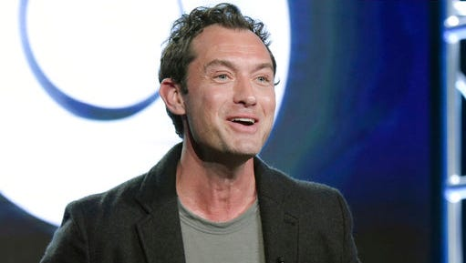 "FILE - In this Jan. 14, 2017 file photo, Jude Law attends the ""The Young Pope"" panel at the HBO portion of the 2017 Winter Television Critics Association press tour in Pasadena, Calif. Law will play young Albus Dumbledore in the next ""Fantastic Beasts"" installment. Warner Bros. announced the casting Tuesday, April 12. The iconic wizard was played by two actors in the ""Harry Potter"" films, beginning with Richard Harris. After his death in 2002, Michael Gambon played inherited the role."
