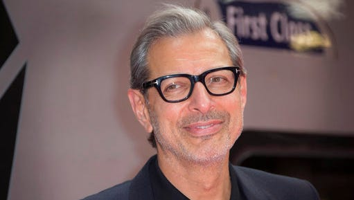"FILE - In this June 6, 2016, file photo, actor Jeff Goldblum poses for photographers at the photo call for the film Independence Day Resurgence at Euston Station in London. The Hollywood Reporter said on April 25, 2017 that Goldblum would return to the Jurassic Park franchise for the upcoming sequel to 2015's ""Jurassic World."""