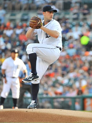 Tigers pitcher Jordan Zimmermann