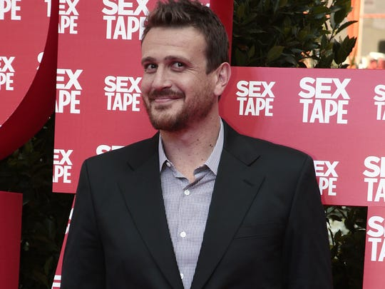 We're sure Jason Segel's mom is thrilled his new movie is called 'Sex Tape.'