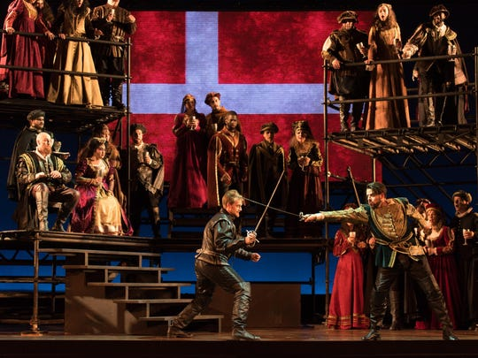 The sumptuous, nearly overstuffed production had audience