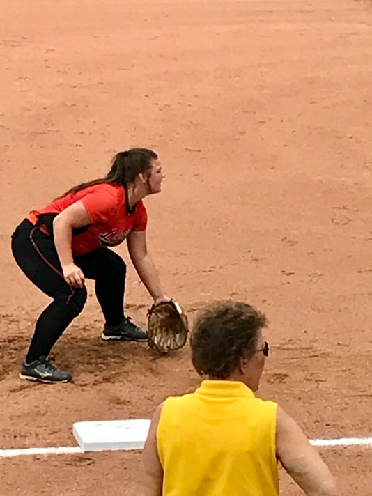 State softball Avery Clark North Union