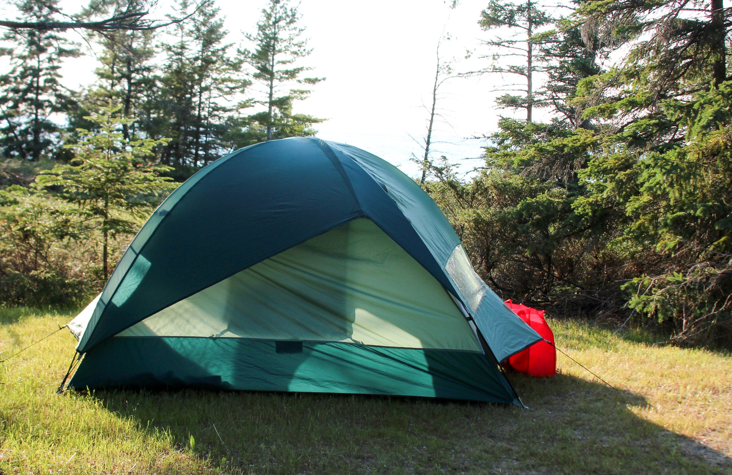 & New Michigan state park campsites cater to tent lovers