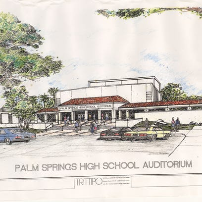 Historic Palm Springs High auditorium gets facelift