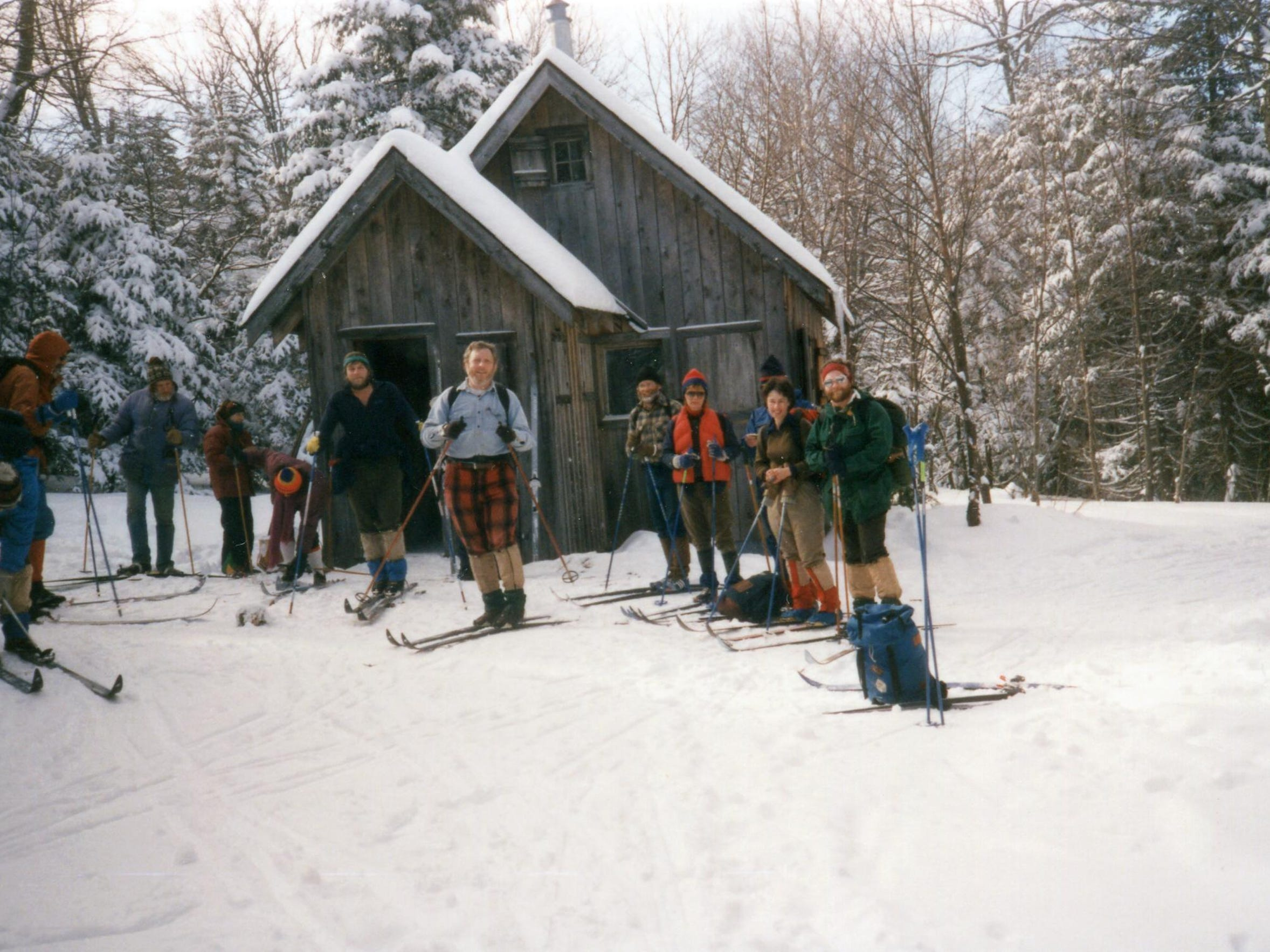 Bryant Camp Skiers 1988