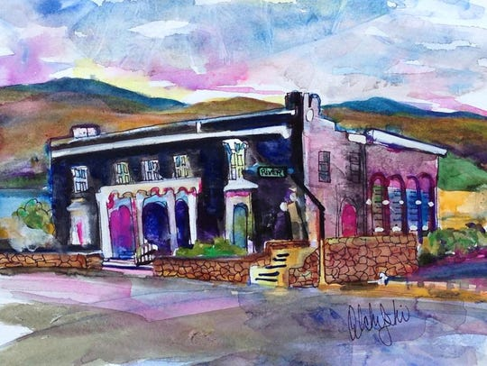 """""""The Woman's Club of El Paso"""" by Pat Olchefski-Winston."""