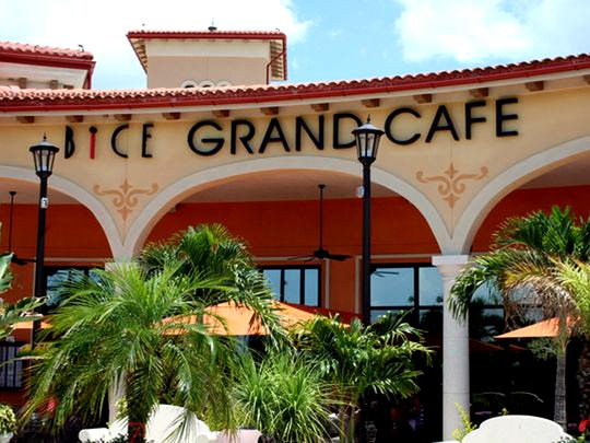 After nine years at Coconut Point in Estero, Bice Grand