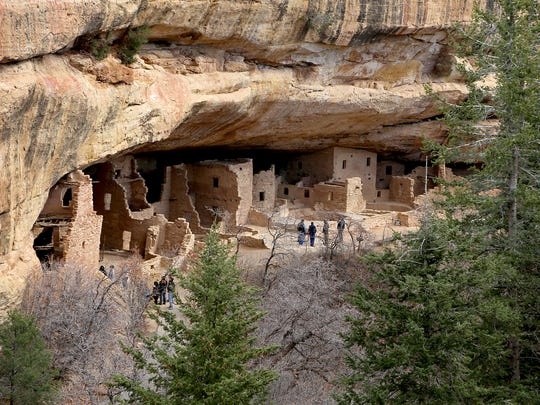 Mesa Verde National Park, New Mexico.