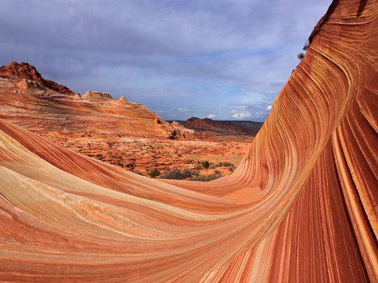 The Wave at Vermilion Cliffs National Monument, Arizona.