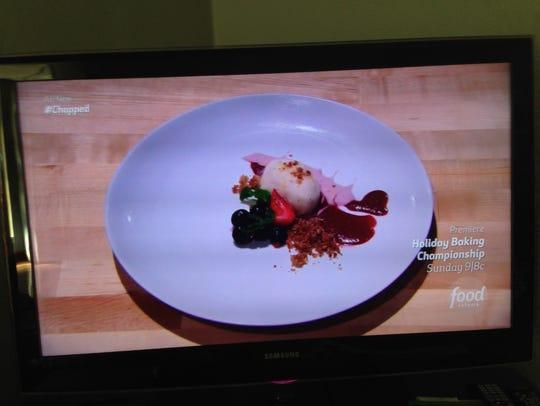 Renee Blackman's dessert: Papaya honey basil-seed gelato